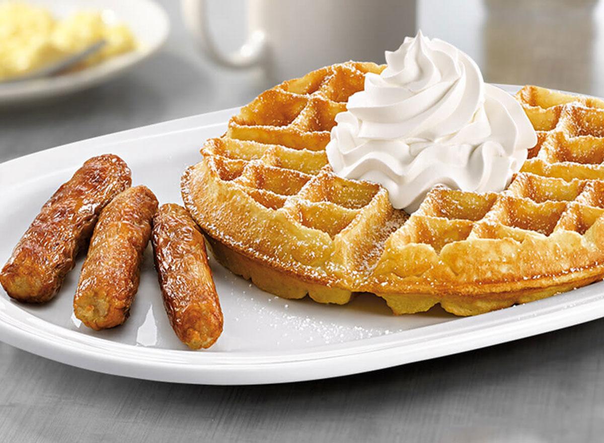 friendlys waffles