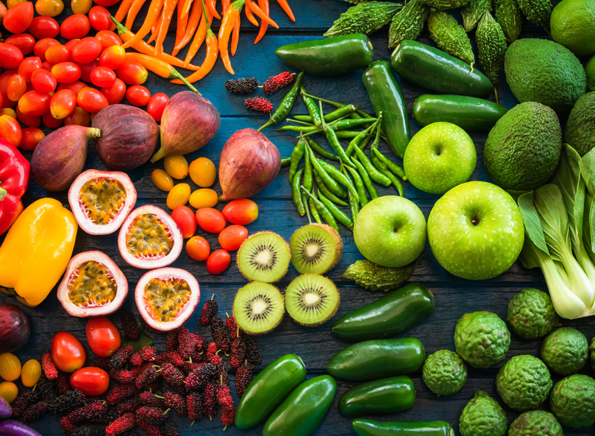 fruit vegetables