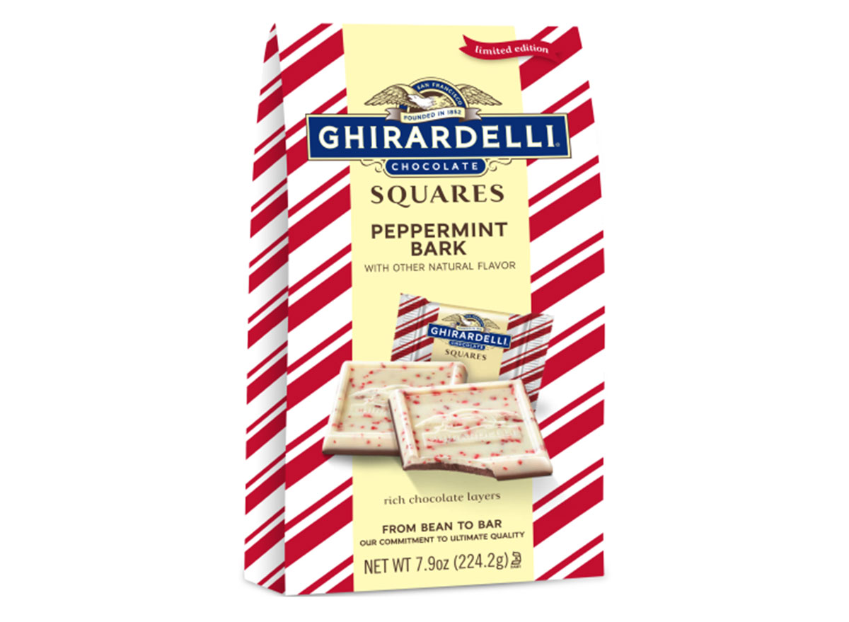 ghirardelli peppermint squares