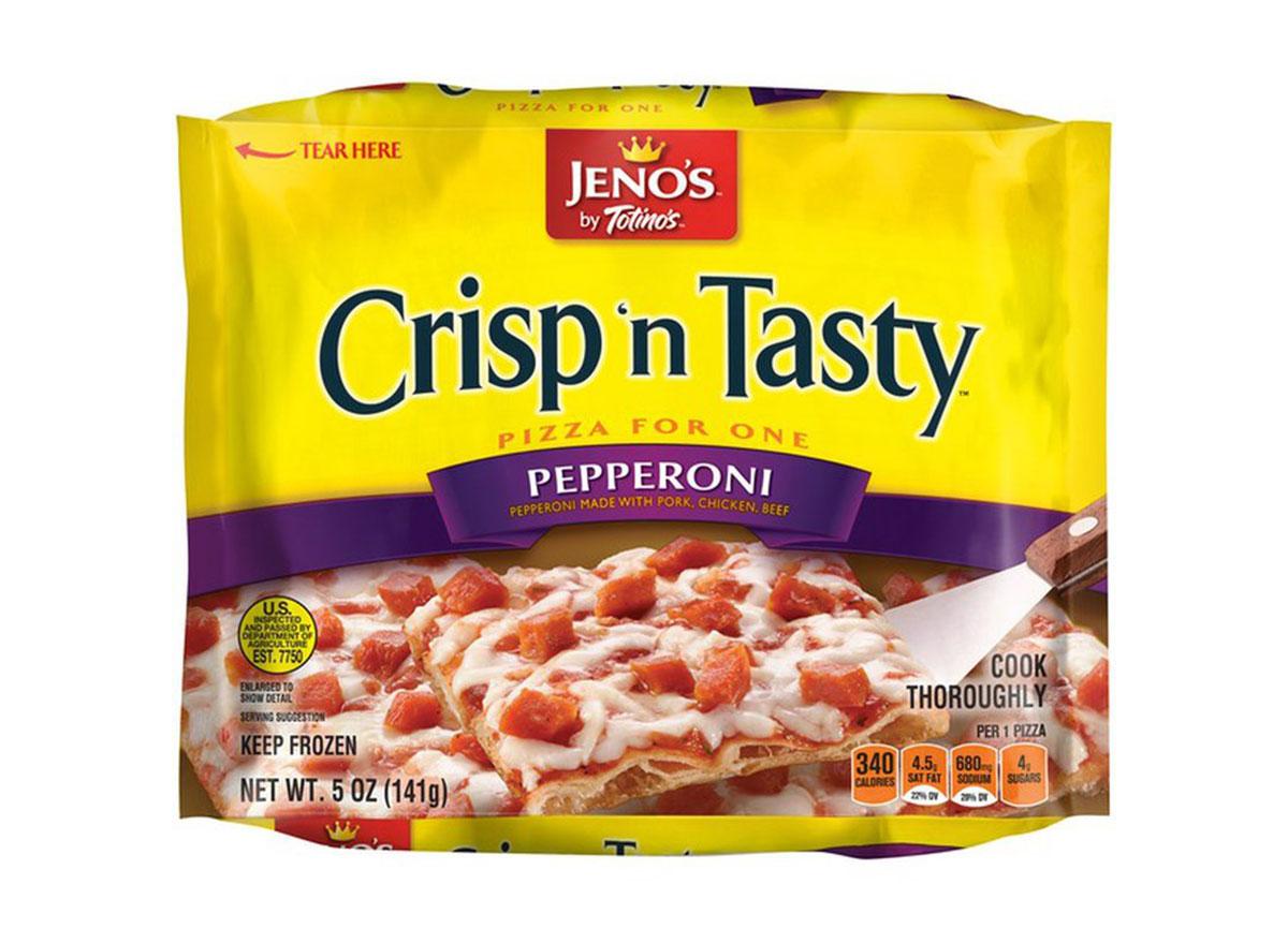 jenos crisp n tasty frozen pizza