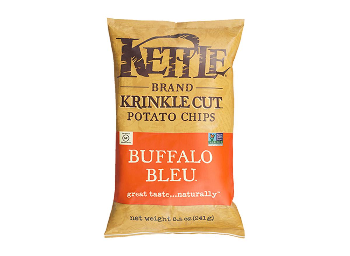 kettle brand krinkle cut buffalo bleu