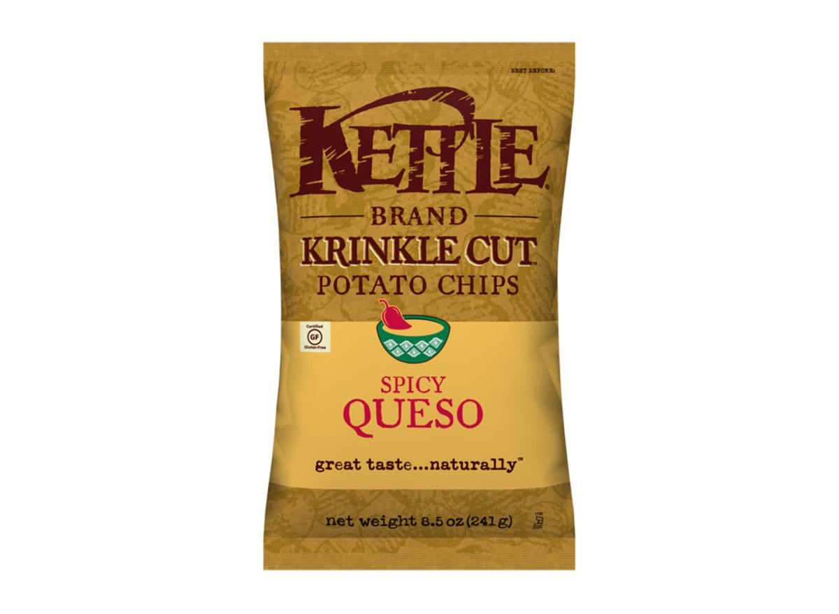 kettle krinkle cut potato chips