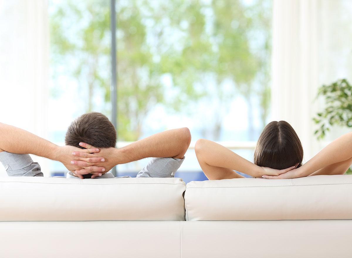 lazy couple