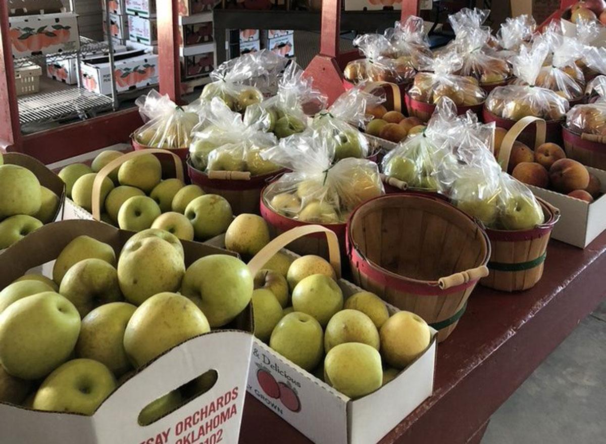 livesay orchards oklahoma
