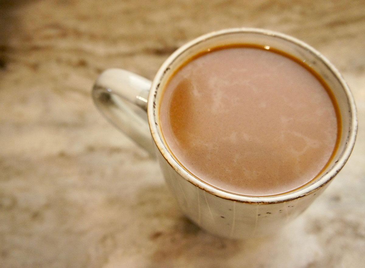 maple almond latte