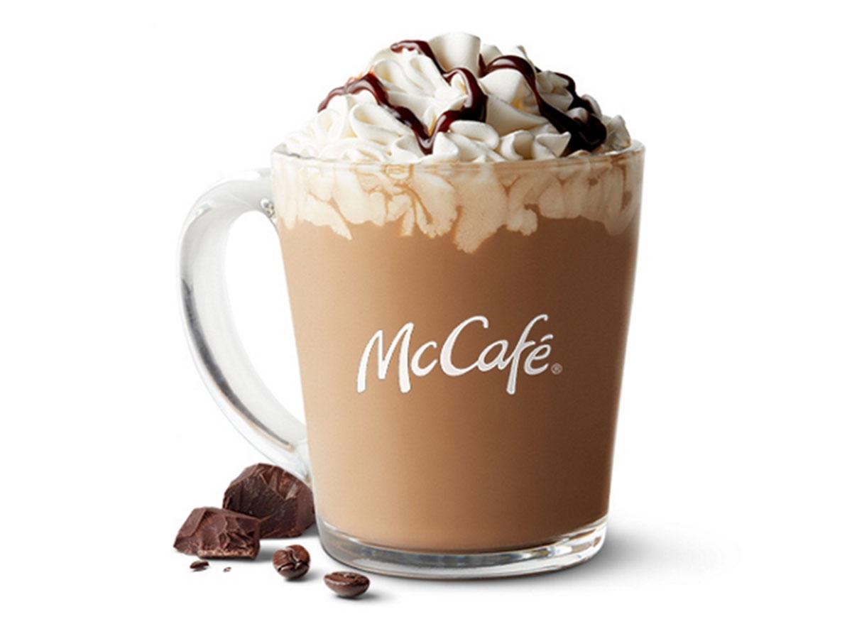 mccafe mocha latte