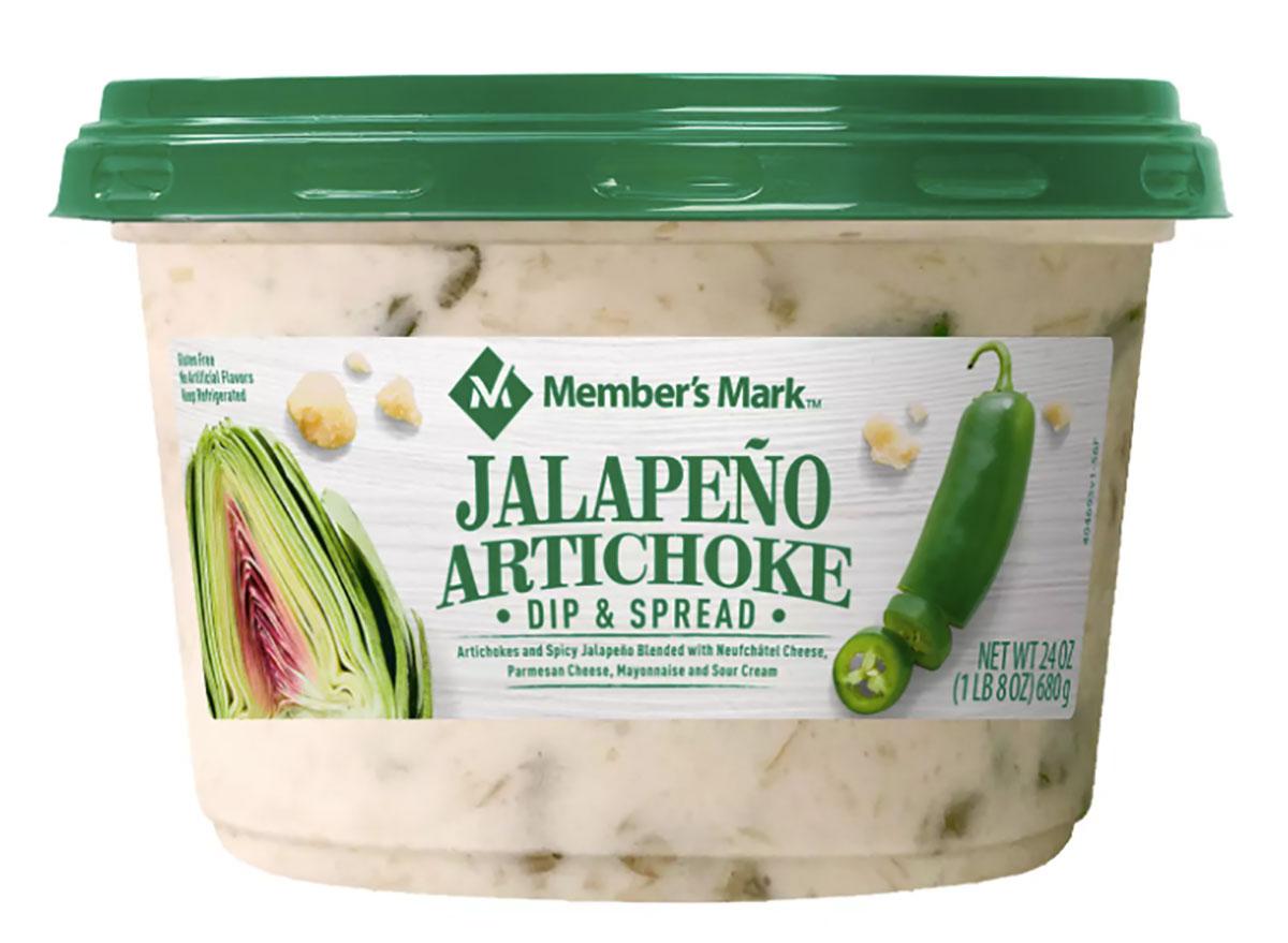 members mark jalapeno artichoke dip