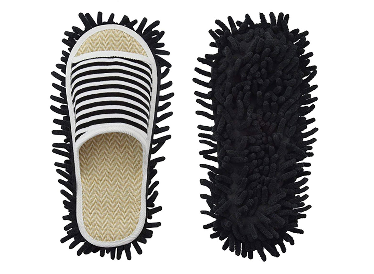 pair of mop slippers
