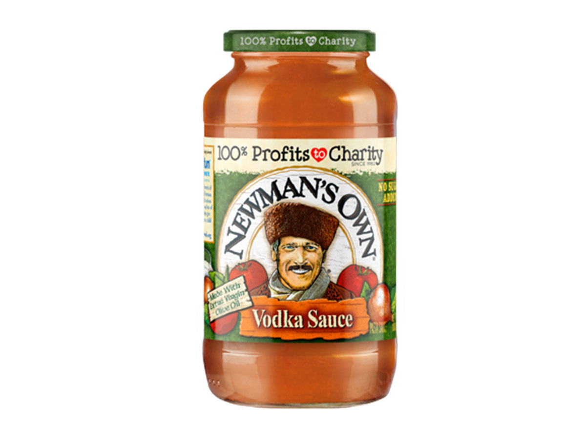 newmans own vodka sauce