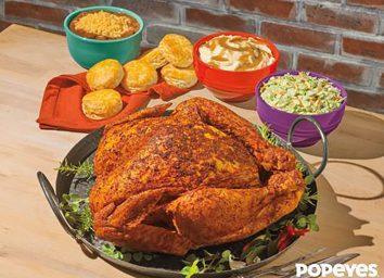 Popeyes cajun style turkey