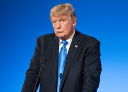 The President of United States of America Donald Trump