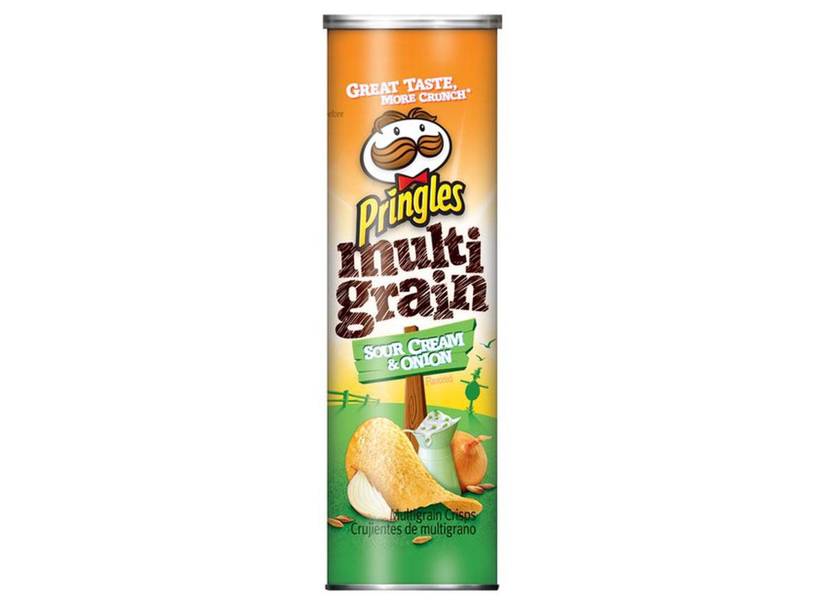 pringles multigrain sour cream onion container
