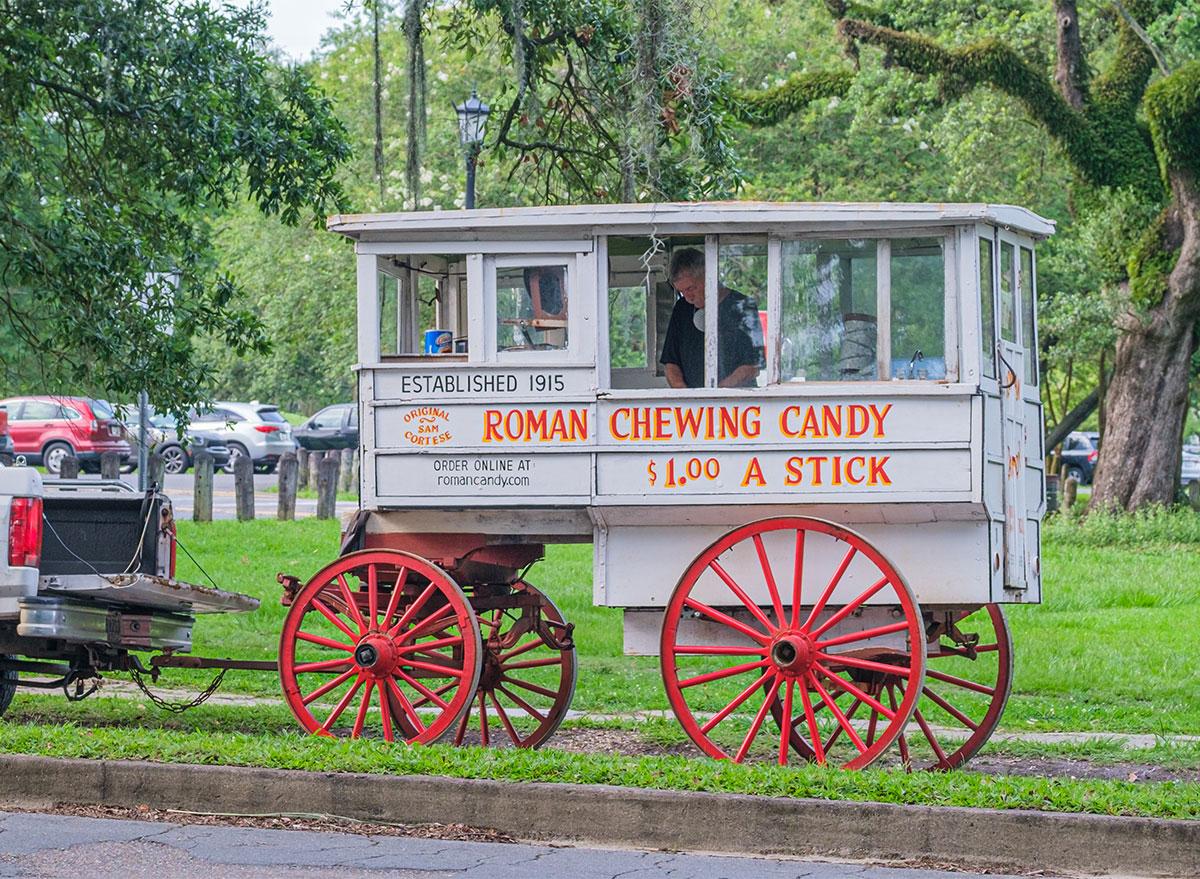 roman candy wagon