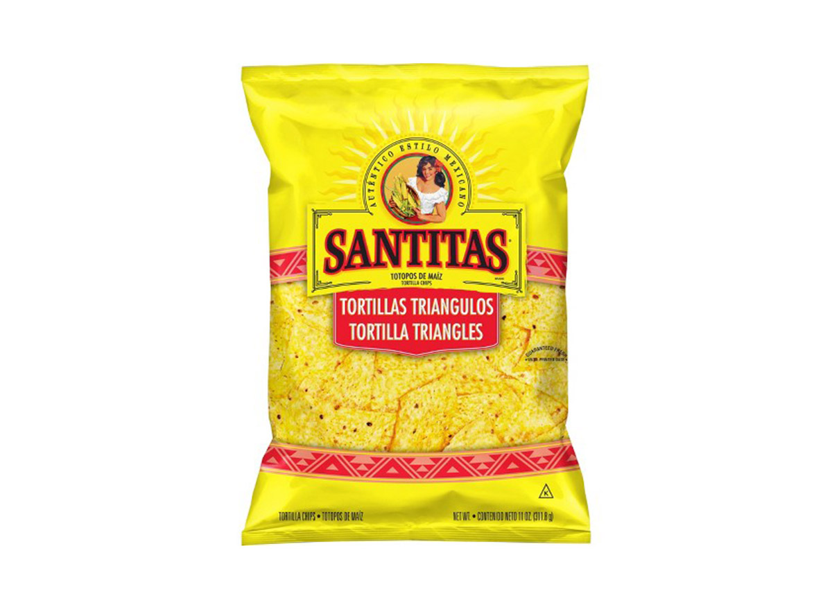 santitas yellow tortilla corn chips