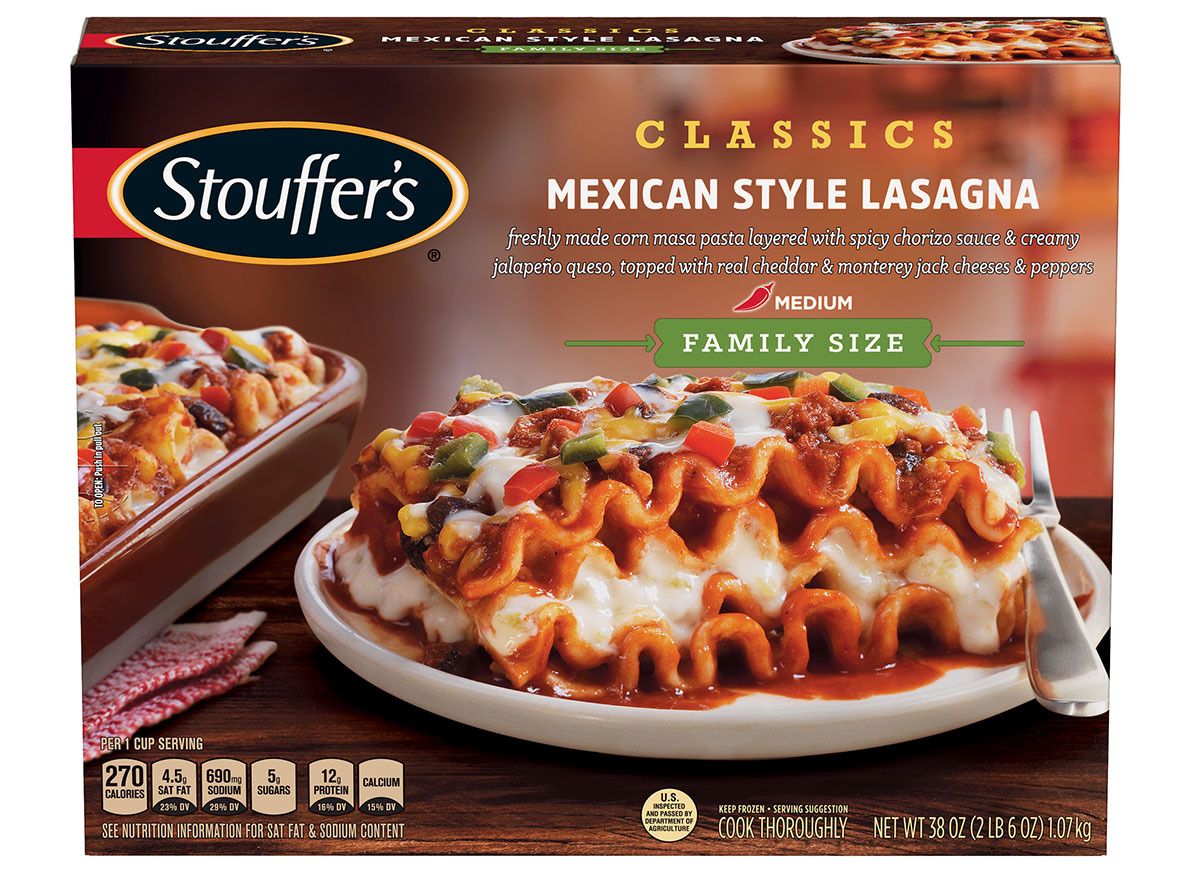 stouffers mexican lasagna
