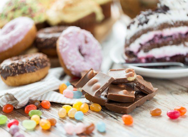 sugary foods