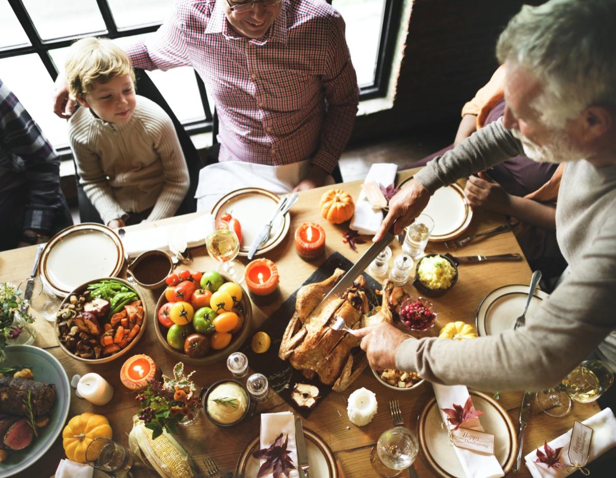 Thanksgiving Celebration Tradition Family Dinner