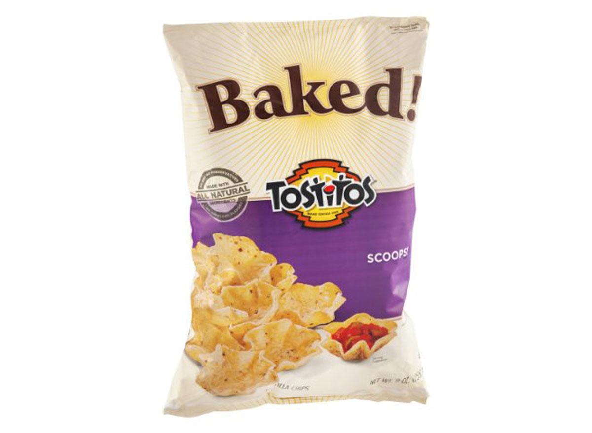 tostitos baked scoops chip bag