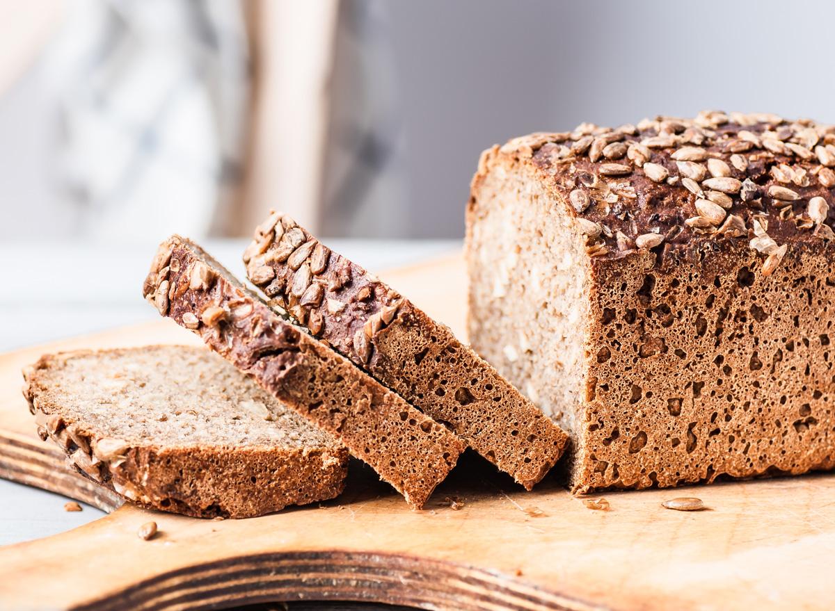 whole grain sliced bread