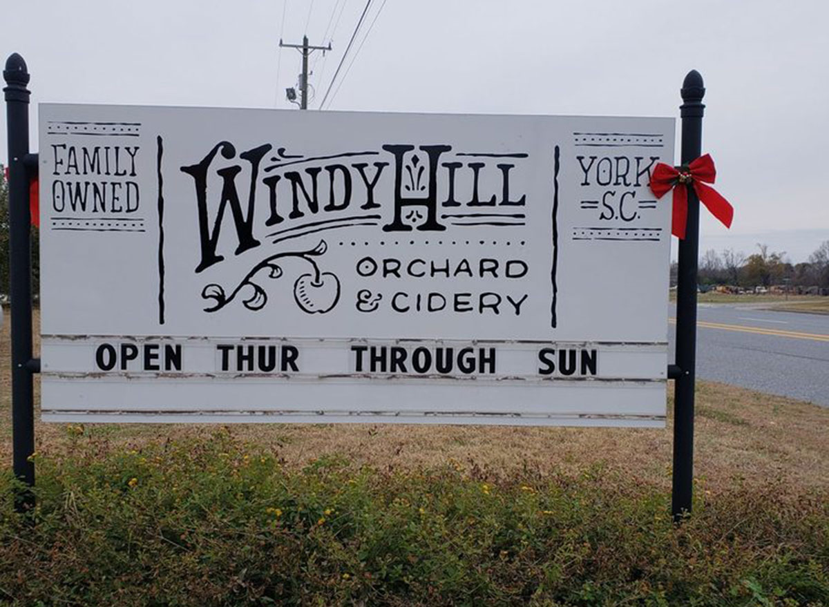 windy hill orchard south carolina