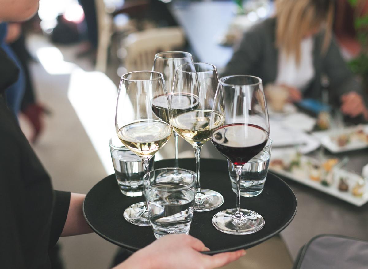 wine water