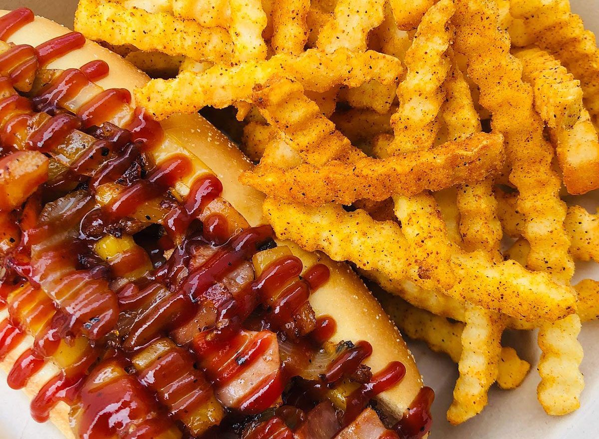 alaska international house hot dogs