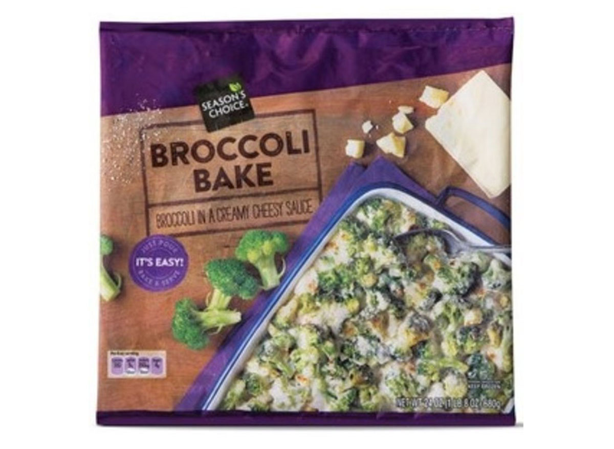 broccoli in cheese sauce from aldi