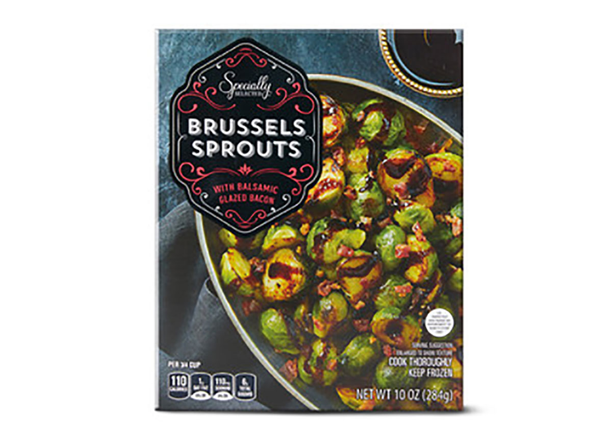 frozen brussels sprouts with bacon from aldi