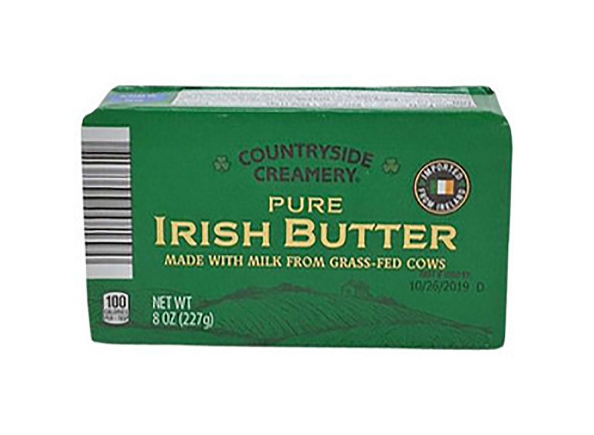 box of aldi irish butter