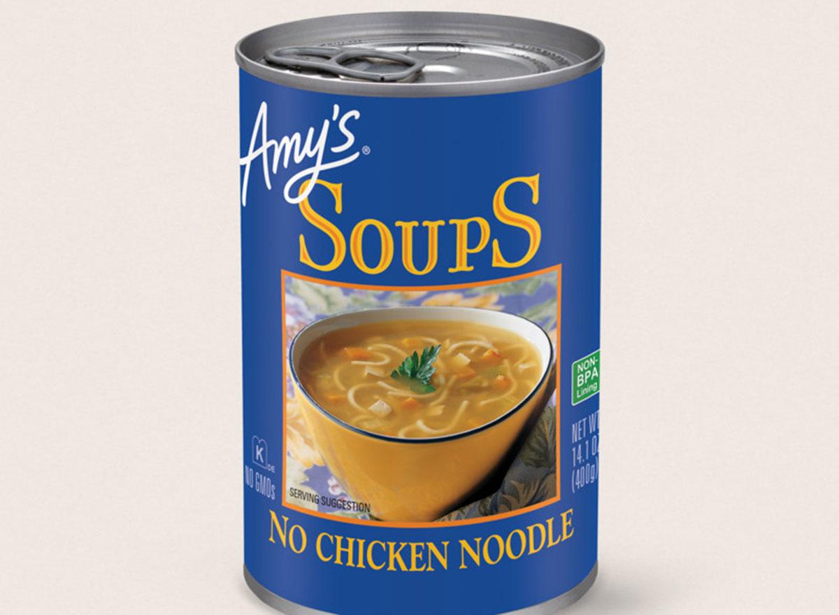 amys soup chicken noodle