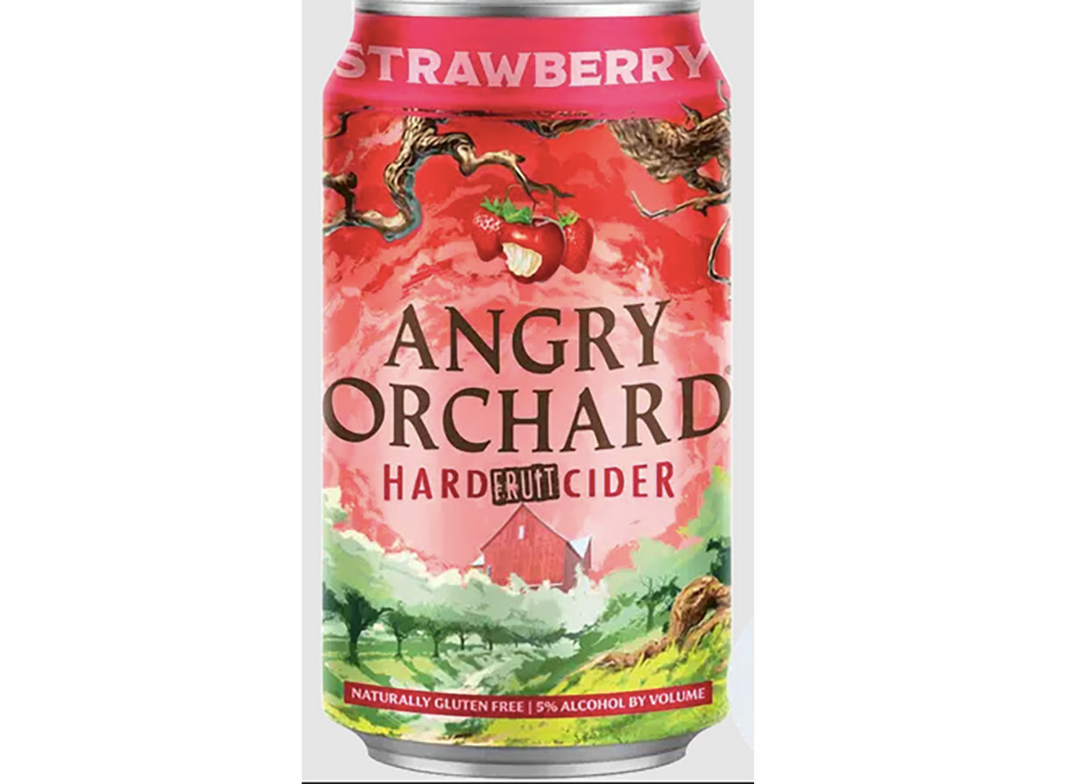 can of angry orchard strawberry cider
