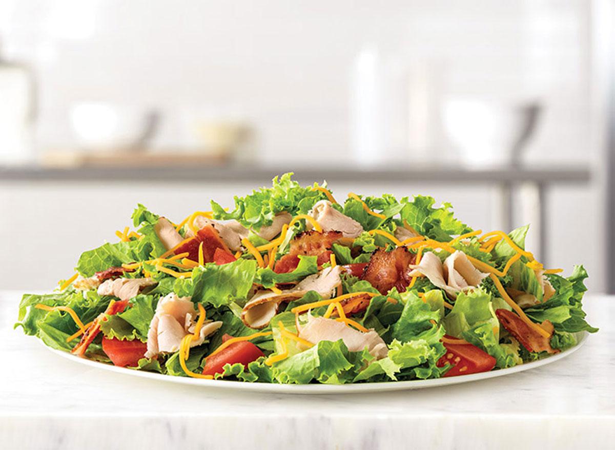 arbys roast turkey salad
