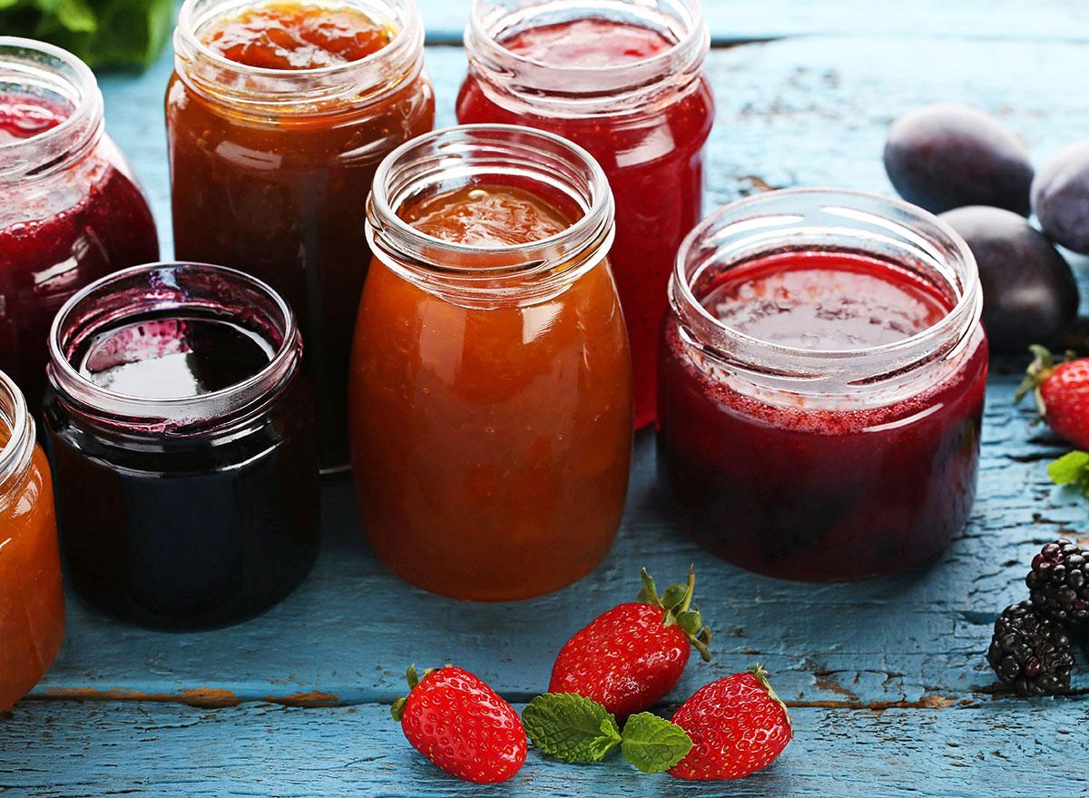 assorted jam