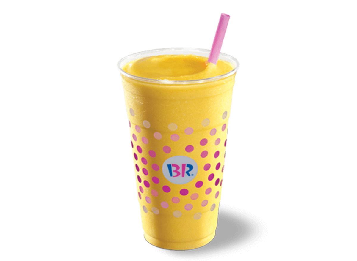 baskin robbins mango banana smoothie