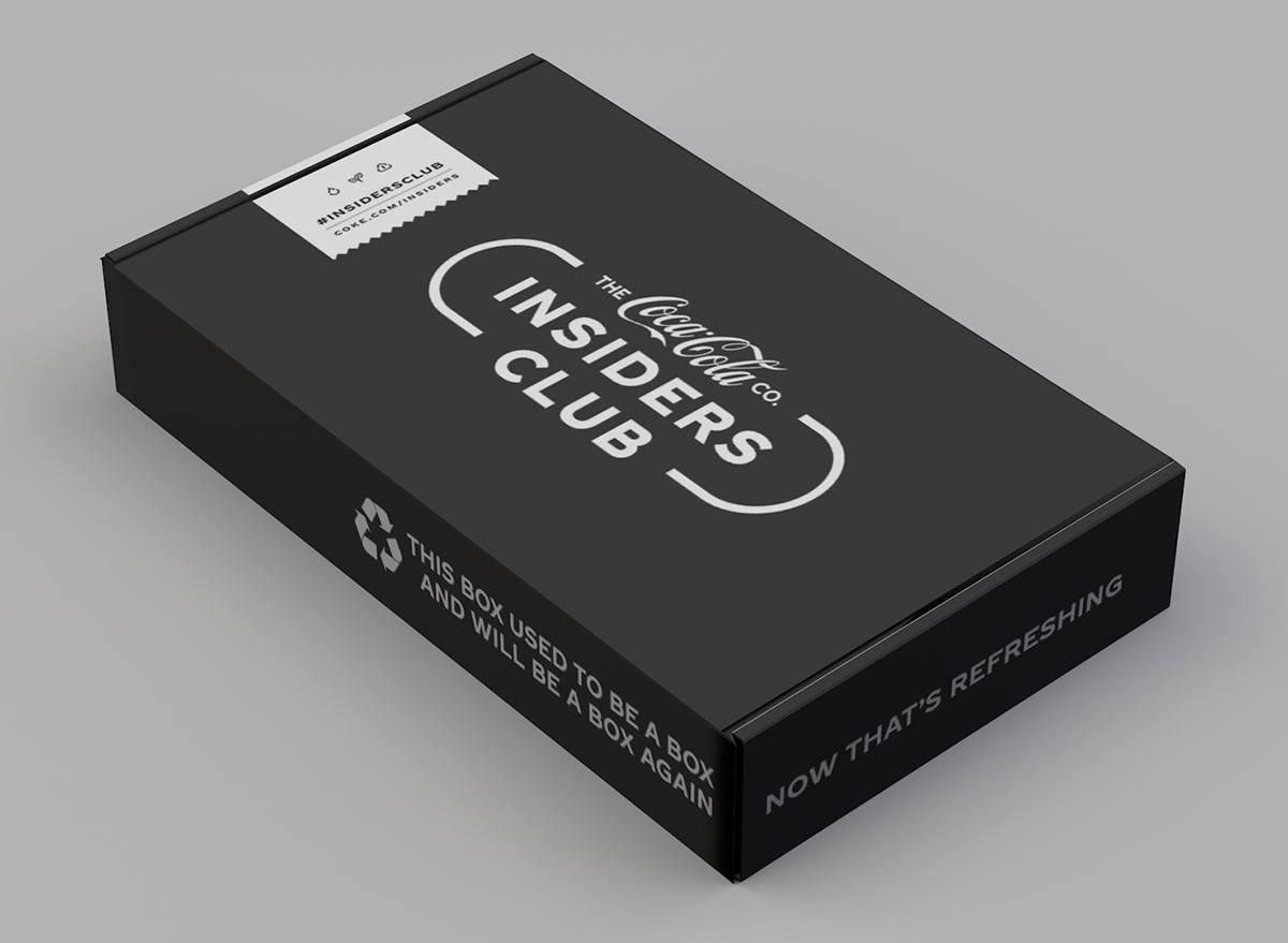 Coca-Cola Insiders Box
