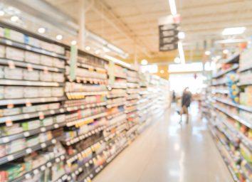 health food aisle