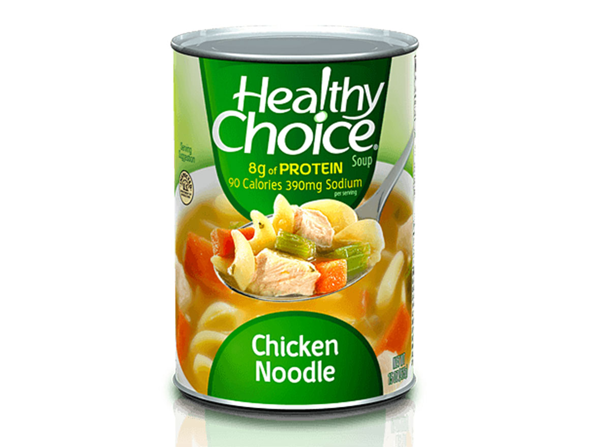 healthy choice chicken soup
