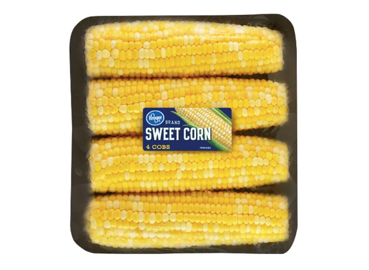 kroger corn cobs in package