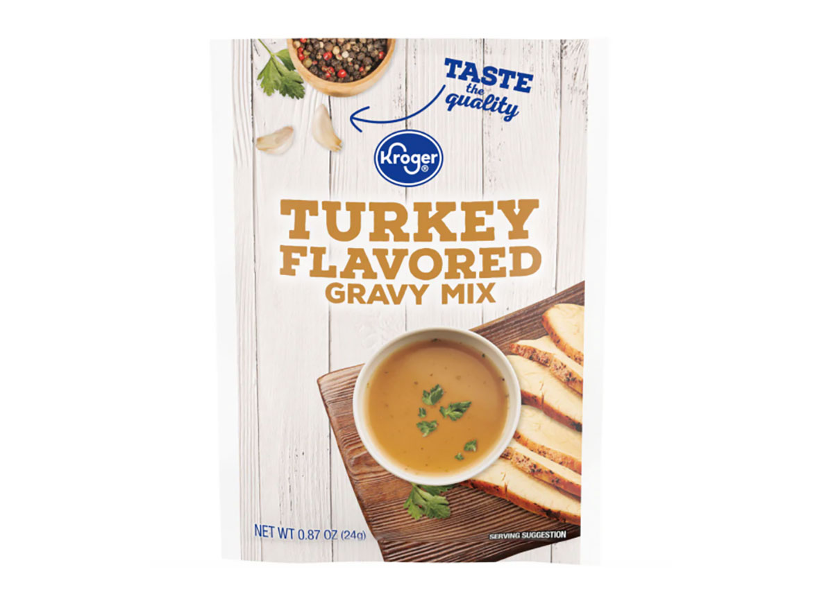 kroger turkey gravy mix