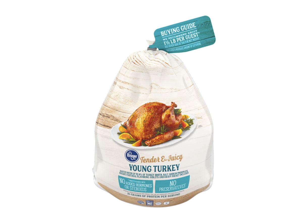 fresh thanksgiving turkey from kroger