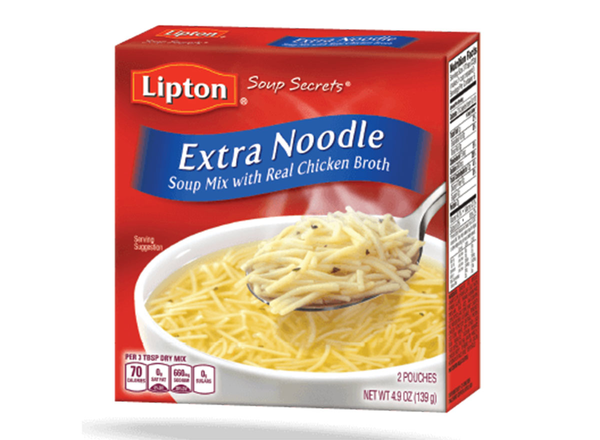 lipton extra noodle soup