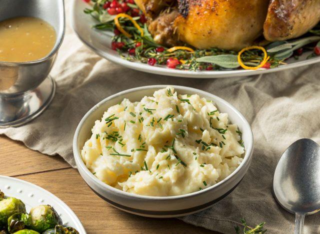 mashed potatoes thanksgiving