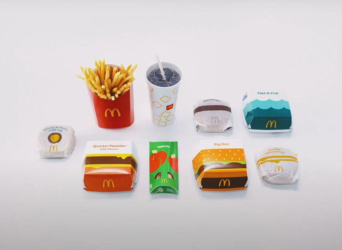 mcdonalds new retro packaging