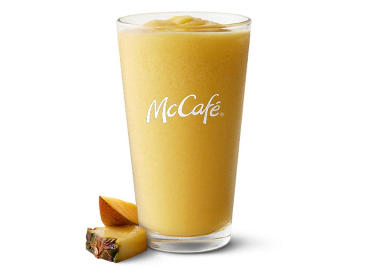 mcdonalds pineapple smoothie