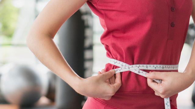 measuring waist weight loss
