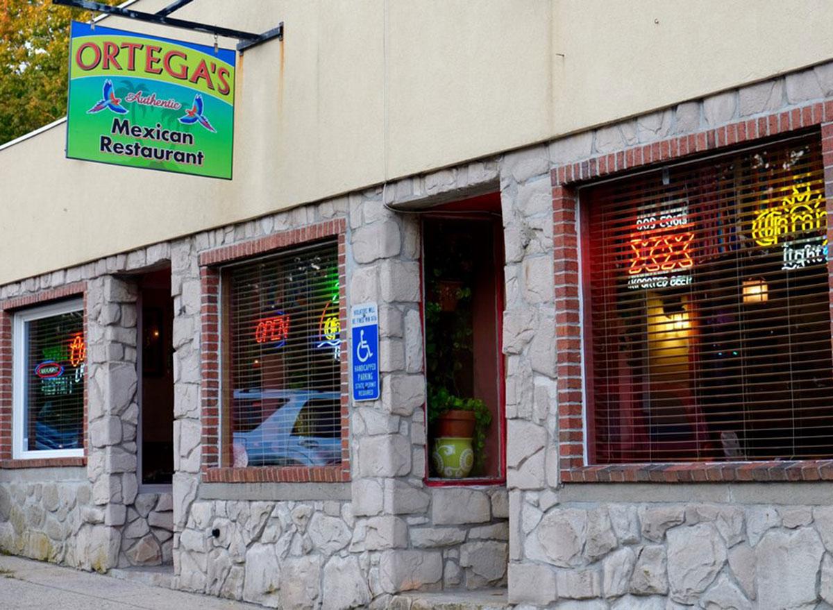 ortegas mexican restaurant