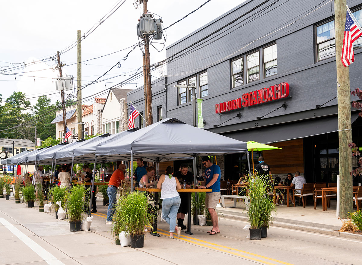 outdoor dining new jersey