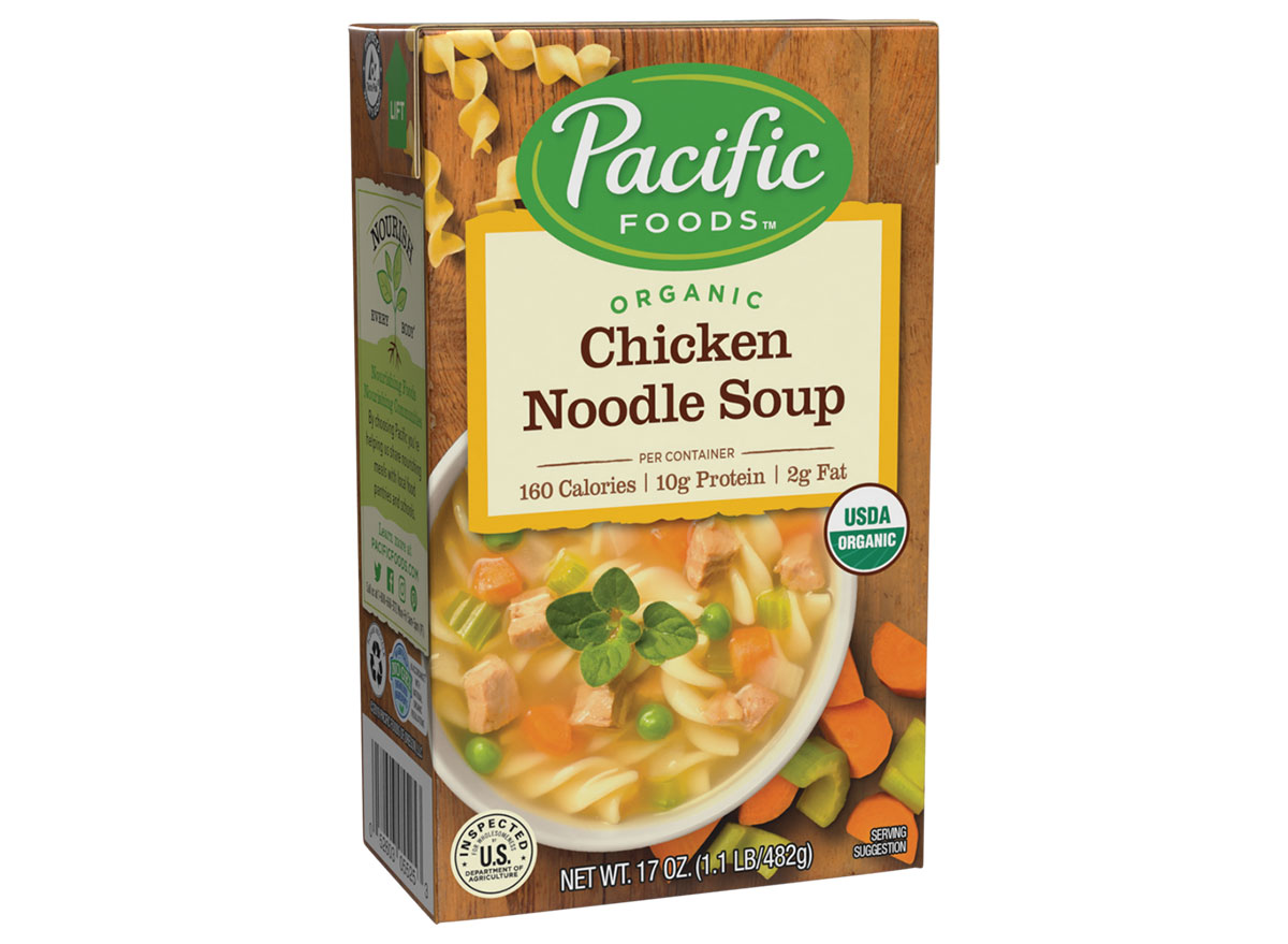 pacific food chicken noodle soup