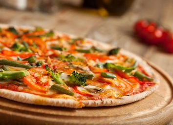pizza light cheese
