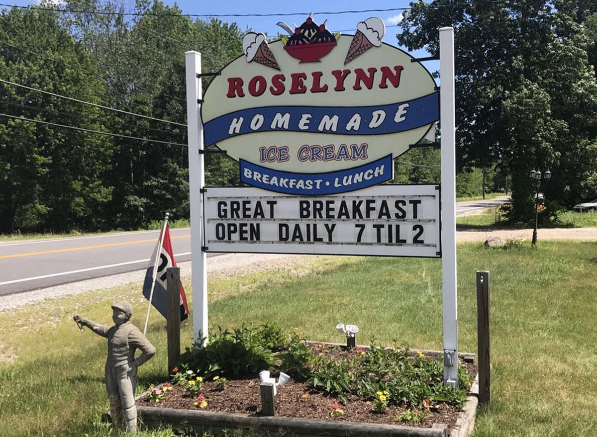 roselynn ice cream